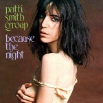 Patti Smith Because The Night single cover